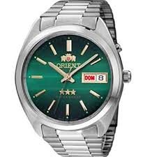 9241e3af1e8 Relógio Orient Masculino Automático AçoVerde33161