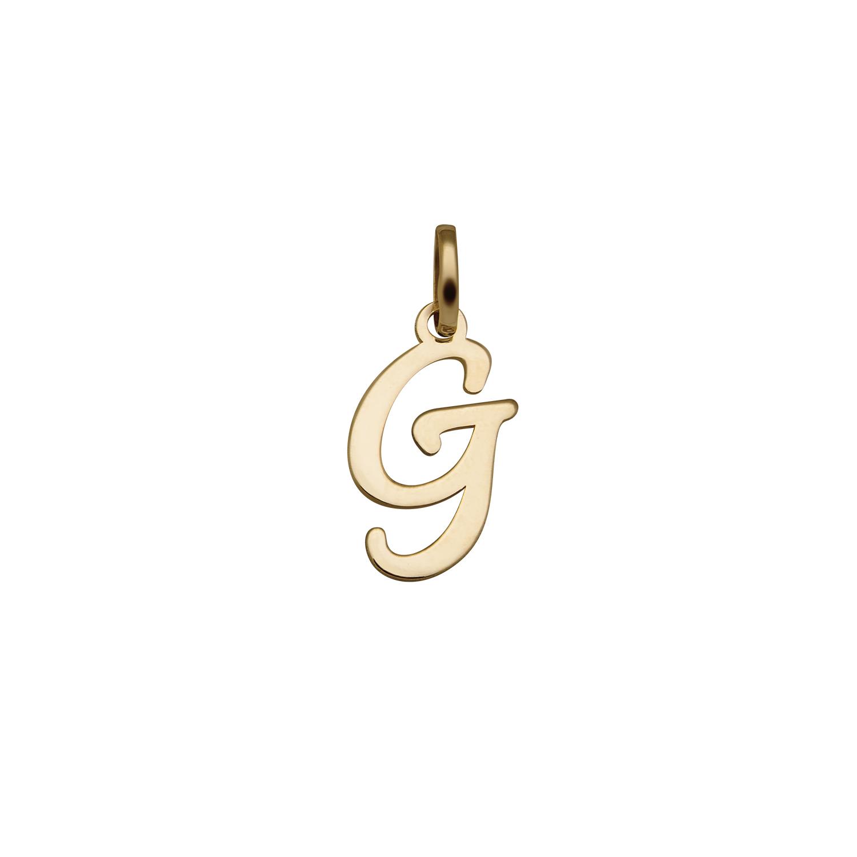 Pingente ouro letra G, Joalherias Aristides 54f14019e6