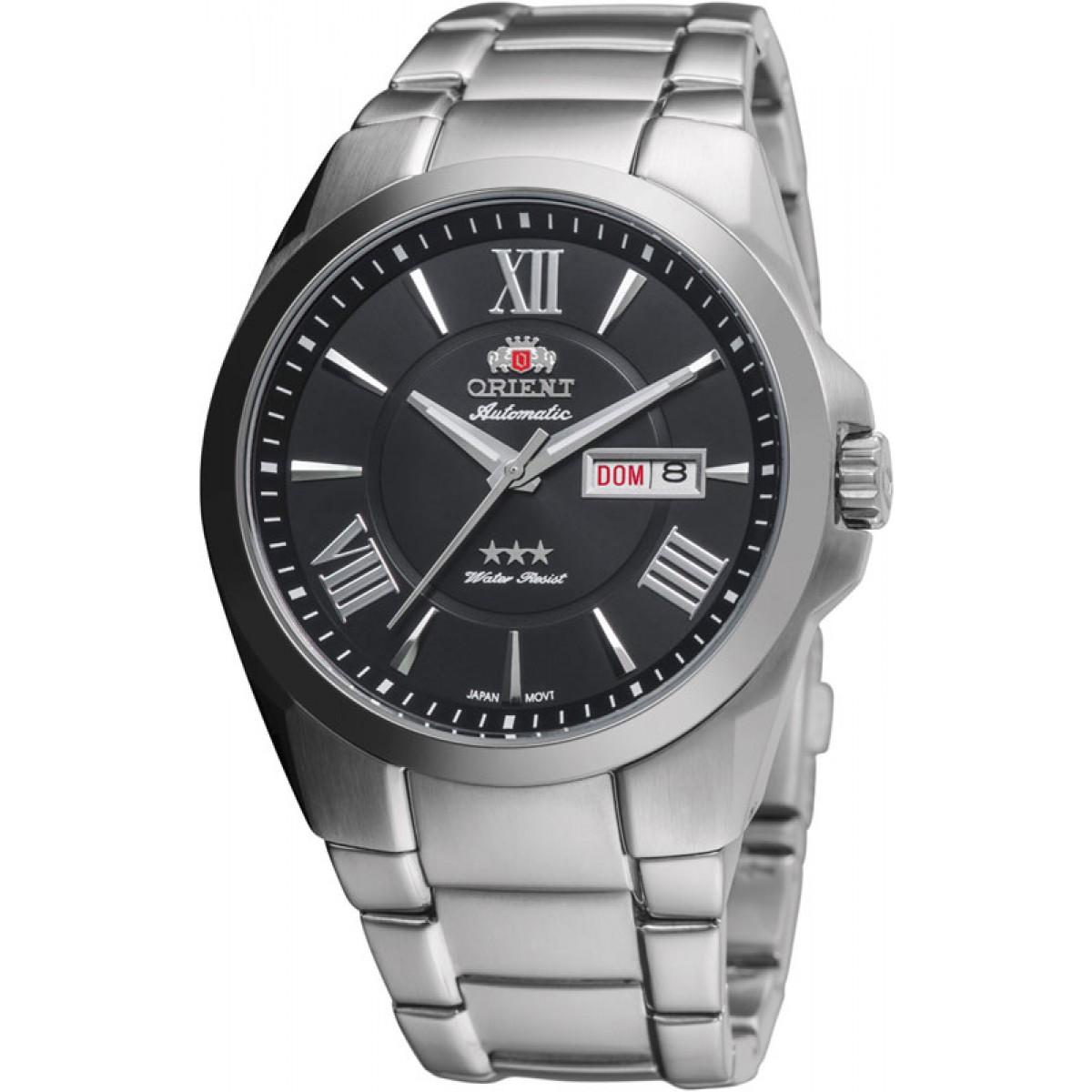 1127e80ad14 Relógio Orient Masculino Automático AçoPreto31995