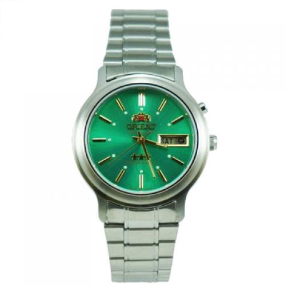 39d41c5a800 Relogio Orient Masculino Automático Aço Verde32516