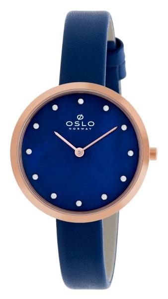 a810b5696e7 Relógio Oslo Feminino Azul OFRSCS9T0001.D1DX