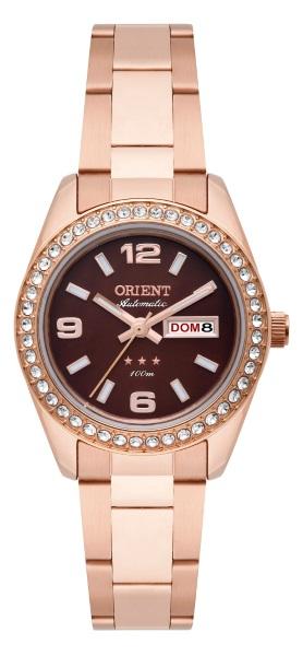 5de0fc08885 Relógio Orient Feminino Automático Rosê 34797