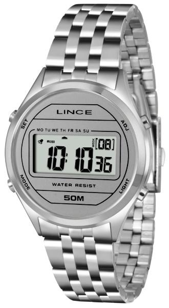 d3471726fba Relógio Lince Feminino Digital Aço 35077