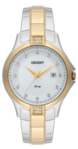 e73a78cc4aa Relógio Orient Feminino Bicolor - 36314